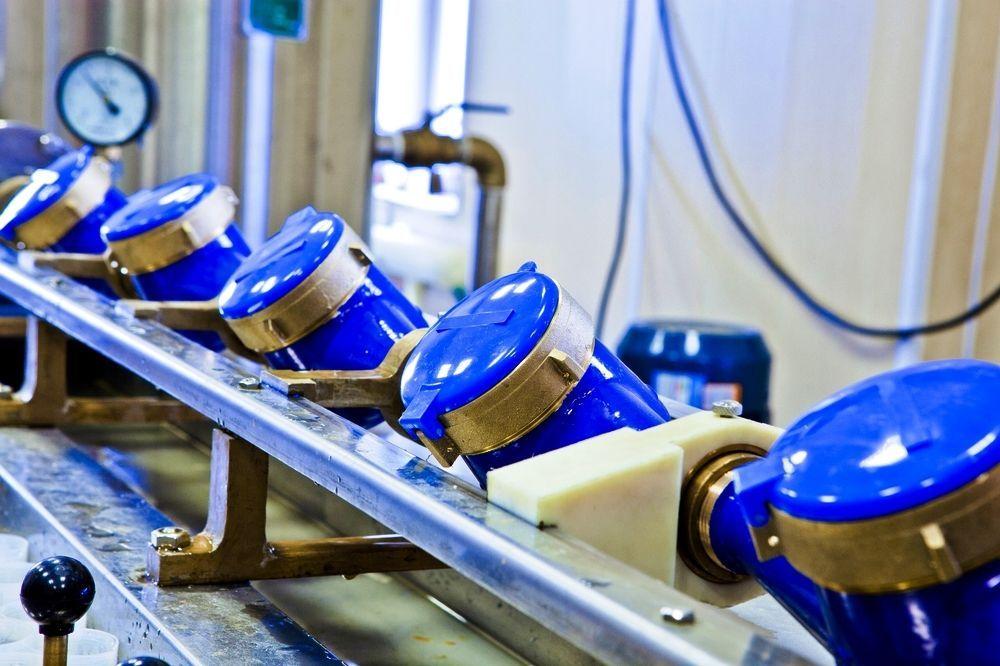 Стенд для поверки приборов учета расхода воды
