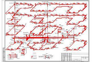 Схема отопления многоэтажного дома